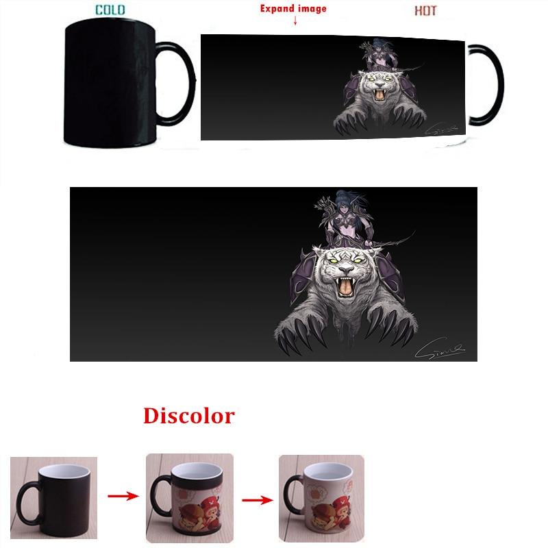 Dota2 <font><b>white</b></font> tiger color change coffee <font><b>cup</b></font> sensitive morphing mugs birthday holiday gift <font><b>Espresso</b></font> <font><b>Cups</b></font> K91-1