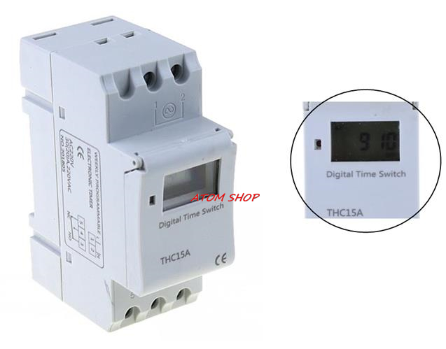 Programmable Timer Electronic Connector Receptacle Time Switch Socket Outlet LJ