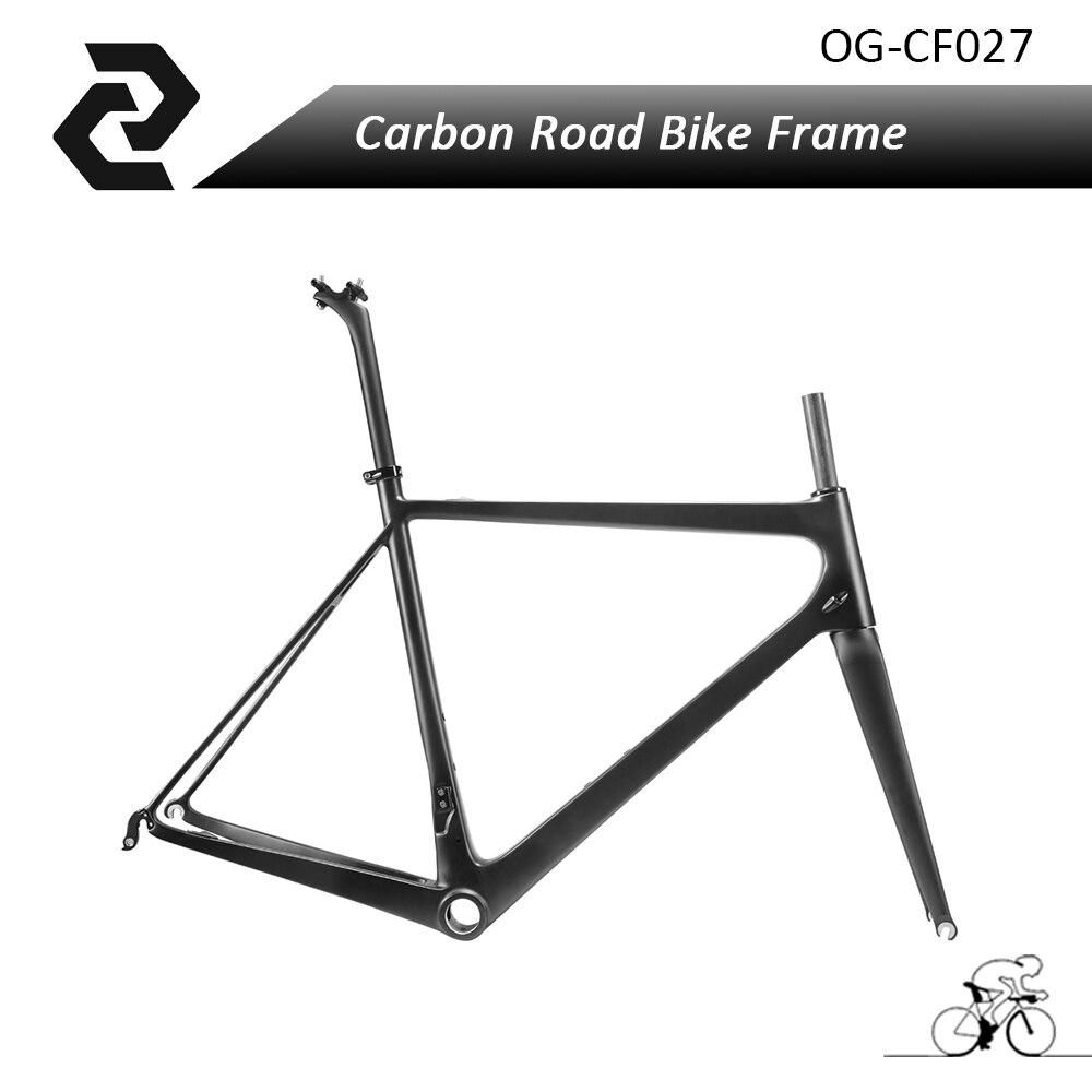 2017 Super Light T800 chinese bisiklet frame full carbon road bike 2017 OEM carbon frame accept custom paint UD BB30/BSA/PF30 недорого