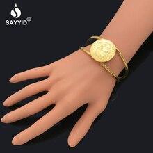 SAYYID or bracelets pour femmes à la mode type ouvert bracelets de France  napoléon Avatar bracelets bijoux B1705 03a1f991d56