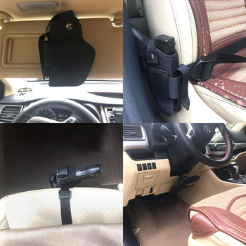 Tactical Gun Holster Concealed Belt Holsters IWB OWB Car Pistol Bag with Magazine Slot and 2 Strap Mounts Gun Accessories 1