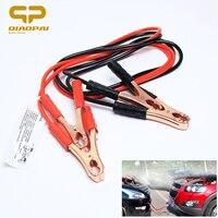 Car Battery Clip Battery Jump Cable 500A Alligator Clip Connector Plug Emergency Car Bag Red Black
