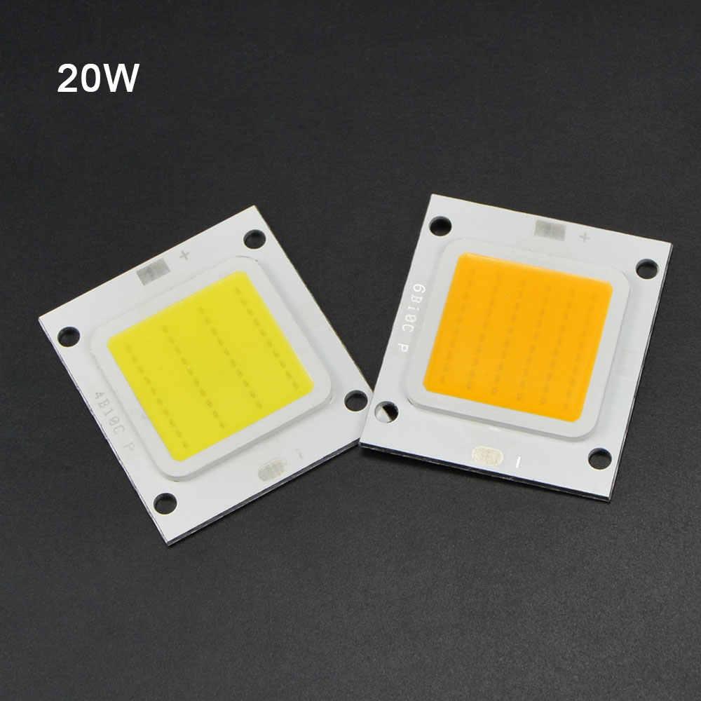 Nowa generacja żetonów LED 30V 36V wysokiej mocy kwadratowy zintegrowany układ lampy 20W 30W 50W 70W DIY reflektor koraliki do lampy