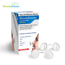 Маска от пыли WoodyKnows Super Defense Max Nose фильтры невидимые носовые фильтры защита от дымки пыльца против загрязнения PM2.5 туман
