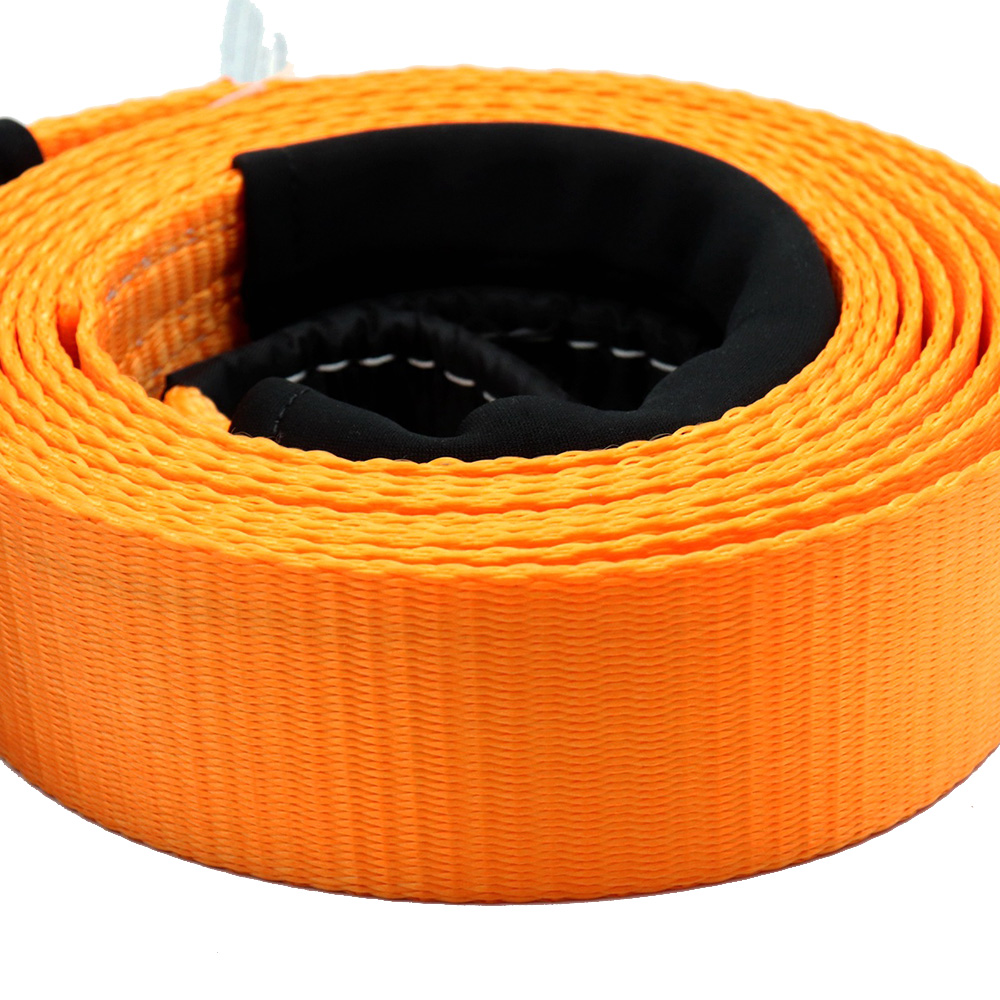 "Tow Strap Tow Rope Heavy Duty Recovery 10,000 Lbs Capacity 2"" X 16' With Jacket Storage Bag Car Accessories Products Hot Sale"