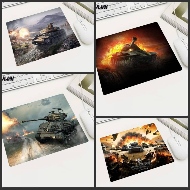 XGZ Customized Small Size Gaming Mouse Pad Home Game Desktop Pc MousePads Rubber Mats Used In World of Tanks World of Warship image