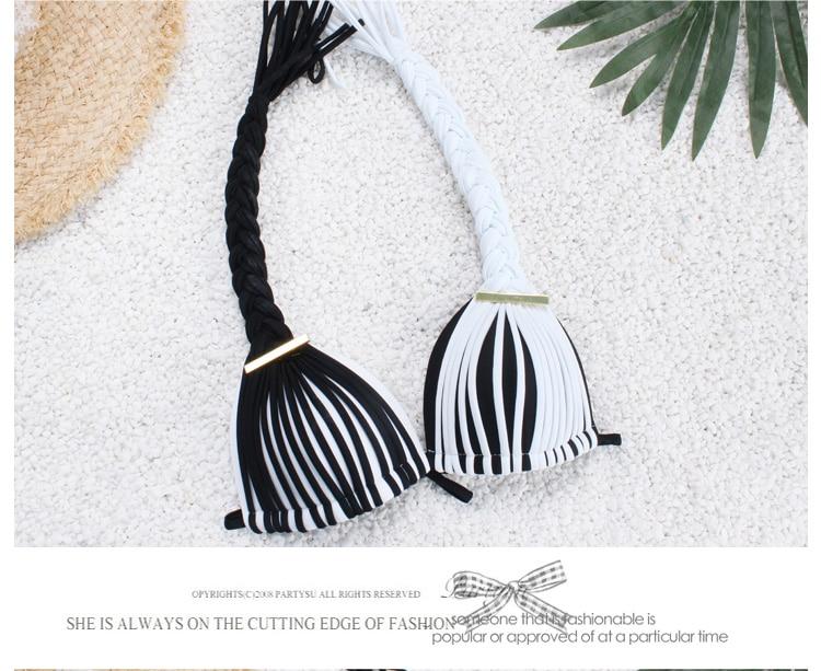 17 New Hot Sexy brazilian Bikini Push Up Padded Bra Women bikini Set lady Swimsuit Swimwear beachwear biquin 8