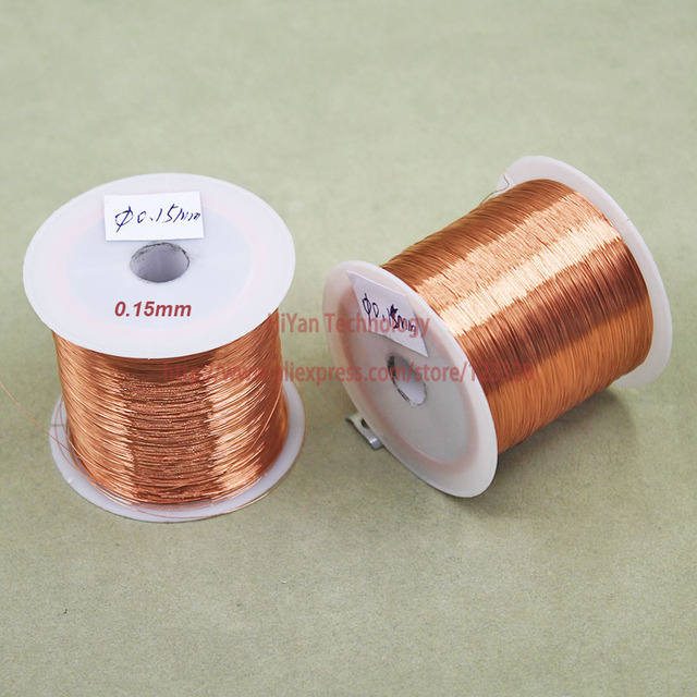 100Grams/lot) Polyurethane Enameled Copper Wire Diameter 0.15MM ...