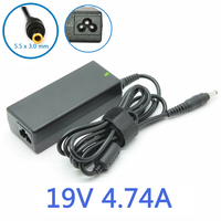 19V 4 74A 90W 5 5x3 0mm Uniersal AC DC Power Supply Adapter Charger For Samsung