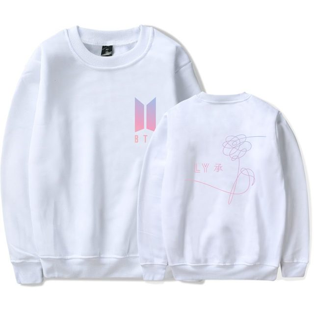 Love Yourself Cover Sweatshirt #2