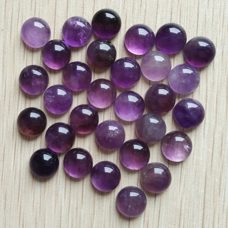 2017 fashion high quality natural stones round CAB CABOCHON beads for jewelry Accessories making 10mm 30pcs/lot wholesale free