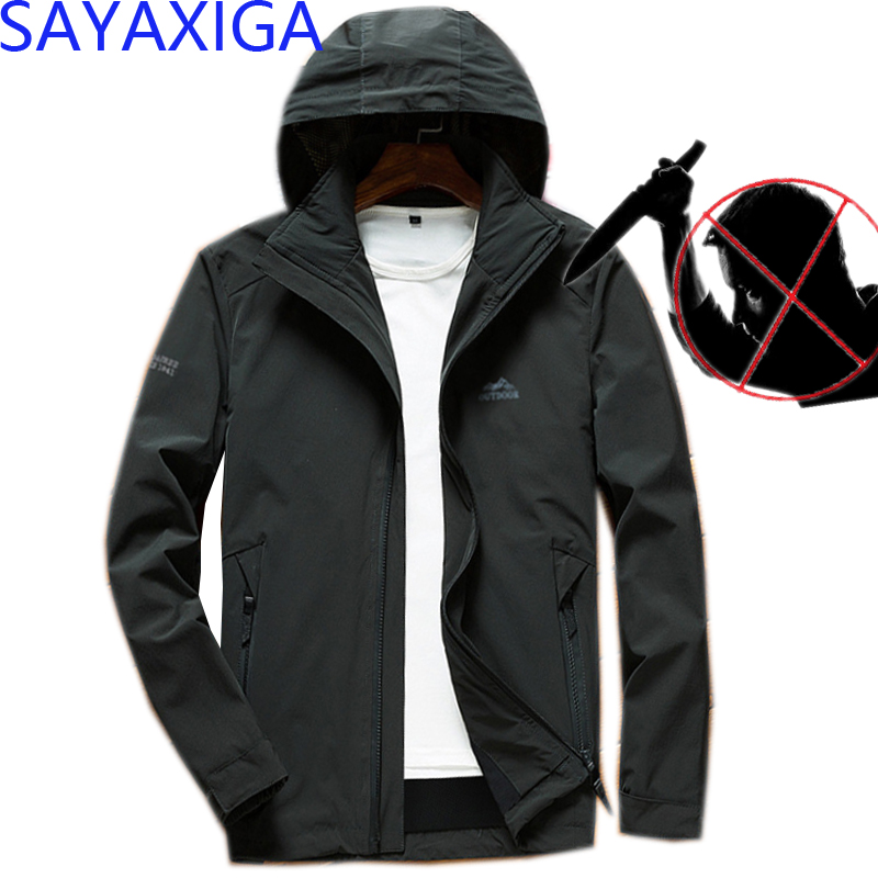 Self Defense Tactical Anti Cut Knife Cut Resistant Denim Jacket Anti Stab Proof Cutfree Stabfree Military Security Jeans Coat 2019 Latest Style Online Sale 50% Back To Search Resultsmen's Clothing Jackets