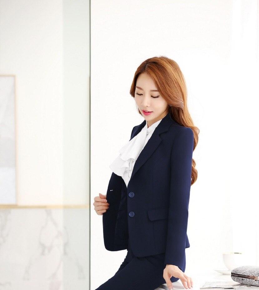 Novelty Long Sleeve Slim Fashion 2016 Autumn Winter Formal Blazers & Jackets Ladies Work Wear Business Women Tops Blaser