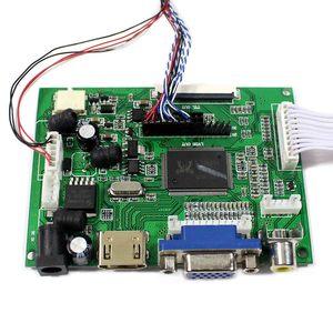 Image 4 - Hdmi + Vga + 2AV Lcd Controller Board VS TY2662 V1 Werk Voor B101AW03 1024X600 Lcd scherm