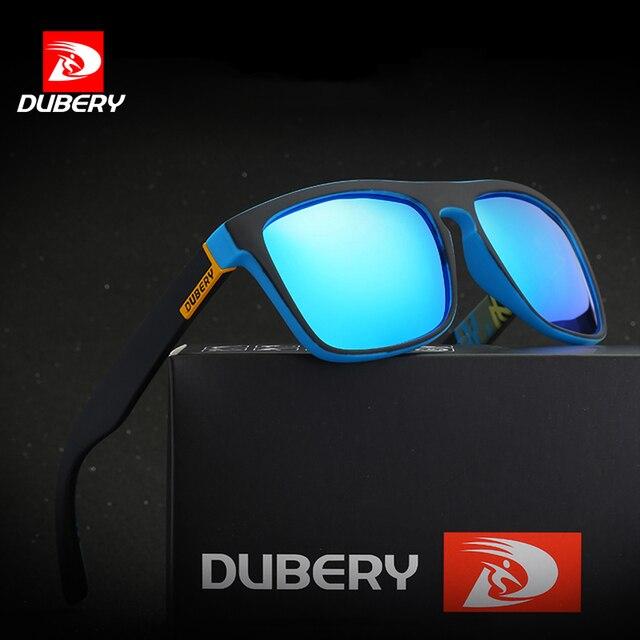 9770c53043 DUBERY Polarized Sunglasses Men s Aviation Driving Shades Male Sun Glasses  For Men Retro Cheap 2018 Luxury Brand Designer Oculos