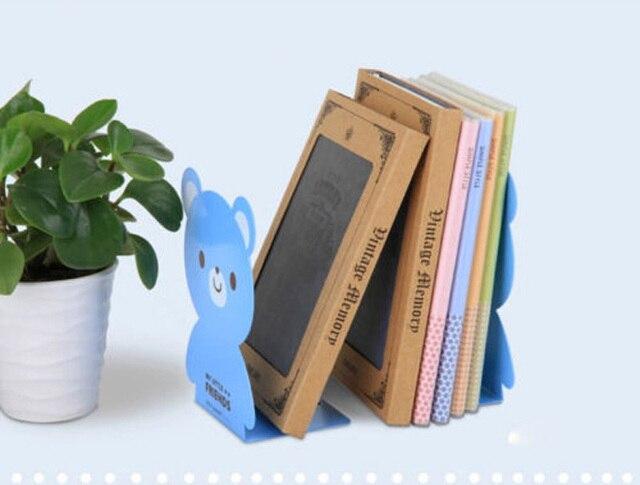 Ufficio Retro Wanita : 2 pz lotto reggilibri scaffale regalo coniglio ferro scrivania