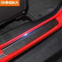 SHINEKA Nerf Bars Running Boards for Jeep Wrangler JL 2018 Door Sills 2 Doors 4 Doors Front Rear Door Sills For Wrangler JL
