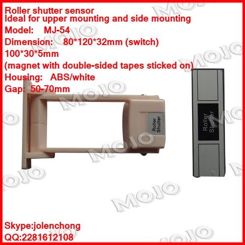 MJ-54 N.O type Roller shutter sensor
