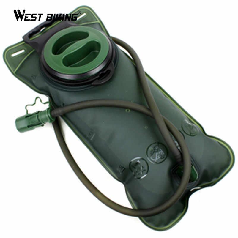 West biking велосипедная Сумка-бурдюк для воды 2L большой емкости ТПУ Кемпинг путешествия велосипедная фляга для воды мочевого пузыря спортивный рюкзак
