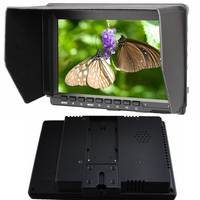 fast shipping 7inch IPS 1280 * 800 LED Video Camera HDMI hd Monitor for Canon Nilkon Sony DSLR Camera Camcorder