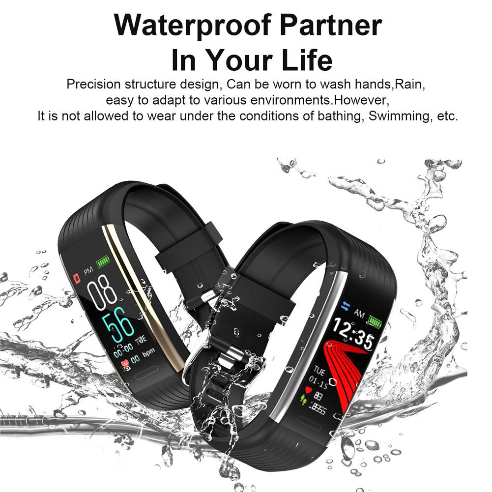 Image 3 - New R1 Smart Watch Men Women Heart Rate Monitor Pressure Fitness Tracker Smartwatch Sport Wristband For Ios Android PK Mi Band 4-in Smart Wristbands from Consumer Electronics
