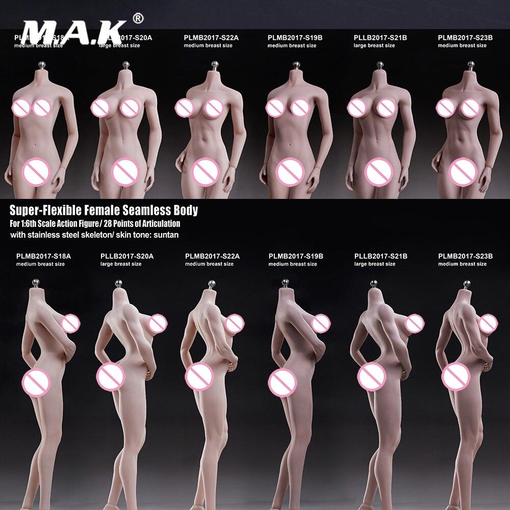 suntan cor pálida boneca de peito médio para 1 6 cabeça