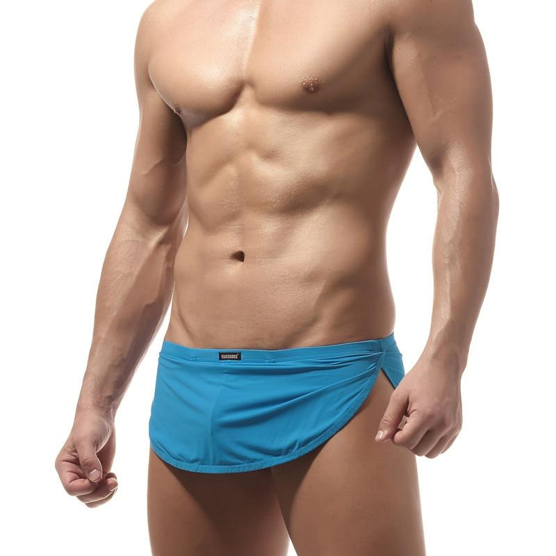 42cfad00ce1d1 New Men Sexy Swimwear Swimsuits Briefs Beach Swimming Board Surf Wear brief  gay pouch low rise bathing men Swim Bikini