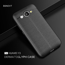 For Huawei Y3 2017 Case CRO-L22 CRO-L02 Cover Soft Silicone Leather Shockproof Bumper Anti-knock Case For Huawei Y3 2017 5.0 ремни narvin 340544 cro tobacco
