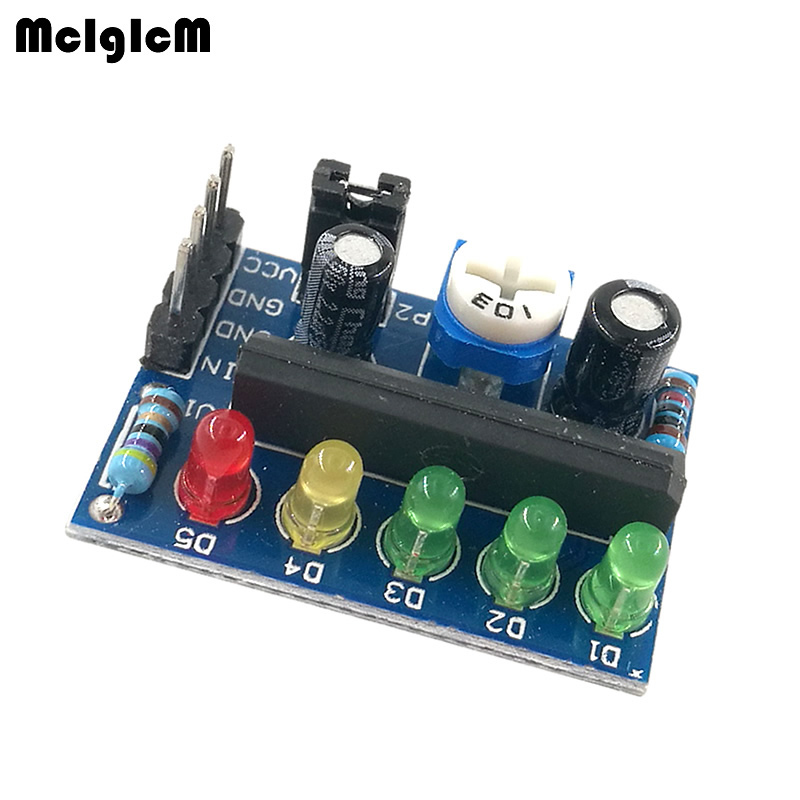 MCIGICM 100 pcs KA2284 Power Level Indicator Battery Indicator Pro Audio Level Indicating Module High Quality