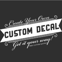 Customized Wall Sticker Personalized Vinyl Wall Decal Home Decor Free Shipping