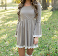 Women loose maternity dresses for pregnant women winter pregnant maternity dresses pregnancy cute pregnant clothes 519