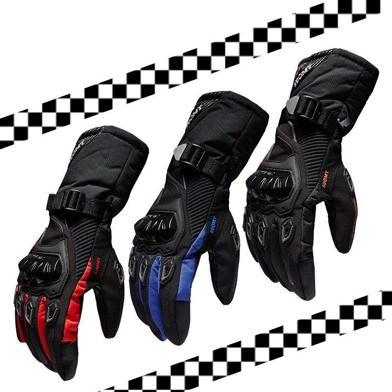 SUOMY moto luvas Luvas Touch Screen de 100% À Prova D' Água à prova de vento de Inverno quente Luvas Moto Motosiklet Eldiveni Protetora