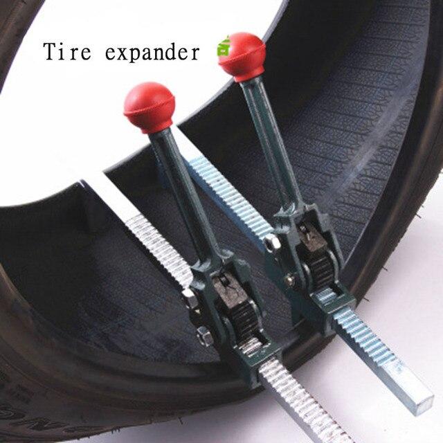 Herramientas de reparación de neumáticos extensor Manual 1 pc verde para dispositivo de expansión de neumáticos