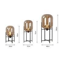 Post modern Floor Lamps LED Lights Vloerlamp Nordic Stand Lamp Living Room Bedroom Restaurant E27 Led Standing Lights Tall Lamp|Floor Lamps| |  -