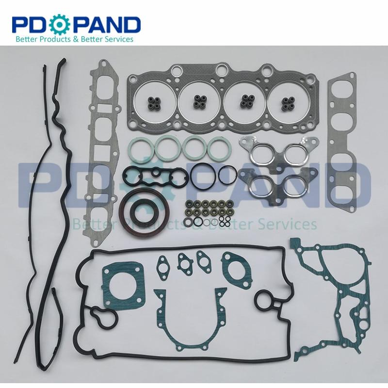 3SGE 3S-GE Engine Overhaul Rebuilding Gasket Kit 04111-74220  04111-74390 For Toyota CELICA ST182 MR2 REV 2 GT 1998cc 2.0L