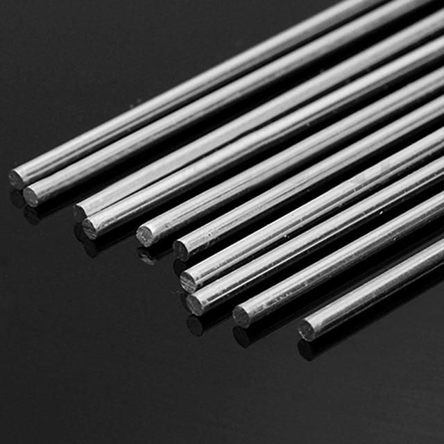 10 stücke Niedrigen Temperatur Aluminium Magnesium Stangen Silber ...