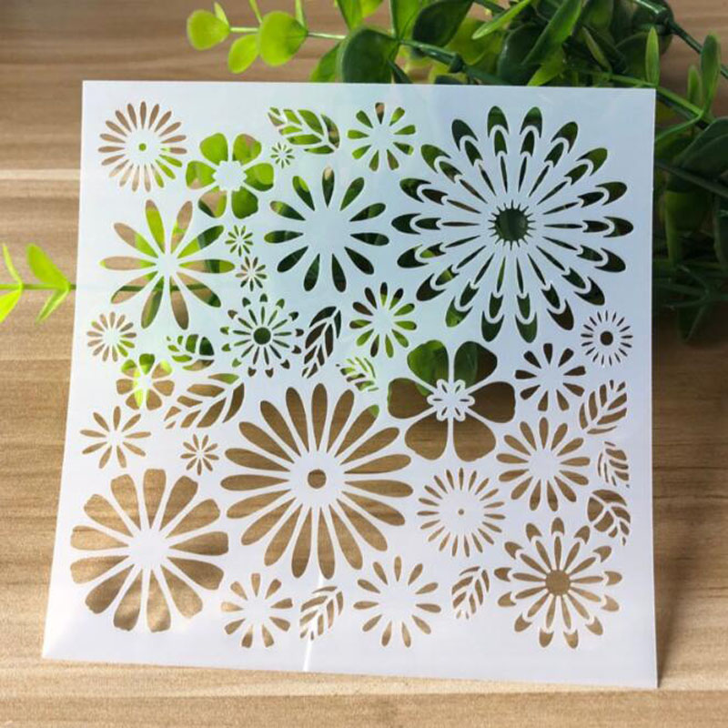 Stencils Everywhere Openwork Painting Template Embossing Bullet Journal Accessories Sjablonen For Scrapbooking Stencil Reusable