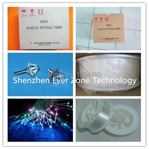 Eska Plastic Opitc Fibre 0.5mm * 6000m par Bobine Mitsubishi; Câble à fibres optiques PMMA