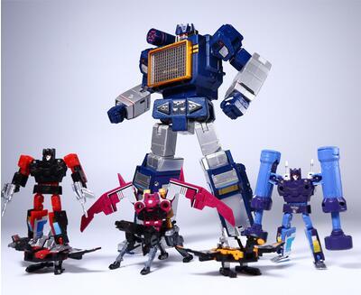 THF, Sound, Toy, Figure, Transformation, Metal