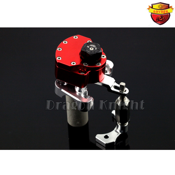 Motocycle Accessories for Ducati Monster 696 2008 - 2014 Stabilizer Steering Damper red motocycle accessories front