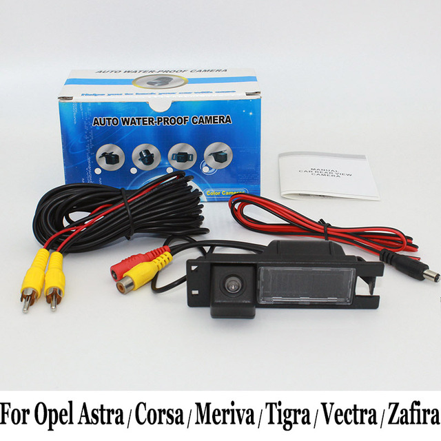 For Opel Astra / Corsa / Meriva / Tigra / Vectra / Zafira / Wired Or Wireless / Night Vision / Wide Lens Angle Rear View Camera