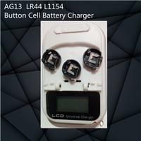 Hoge kwaliteit! AG13 LR44 L1154 LR44 303 RW32 V303 357AA Coin Knoopcel Batterij Oplader EU Plug Uitstekende Kwaliteit