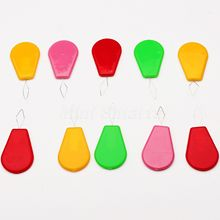 12PCS/Set Color Assorted Bow Wire Needle Threader Hand Machine Craft Sewing