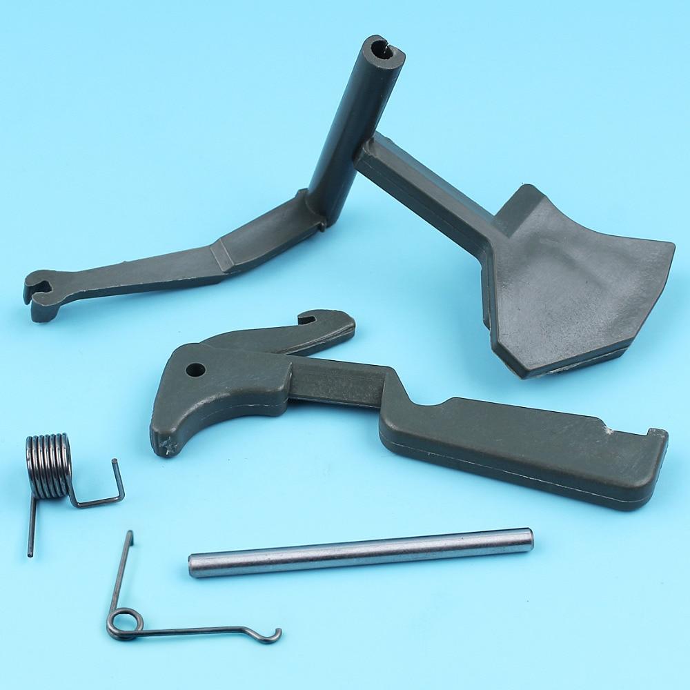 Throttle Trigger Lever Holder Spring Pin Kit For Husqvarna 61 66 268 272 266 272XP 162 Chainsaw #501518002/501518102