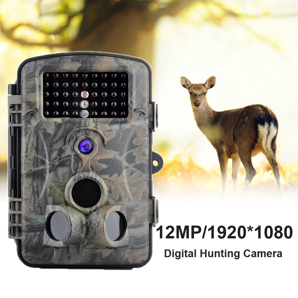 12MP Photo Traps Outdoor Hunting Camera PIR Infrared Night Vision Wild Trail Camera Waterproof Wildlife Game Cameras Trap12MP Photo Traps Outdoor Hunting Camera PIR Infrared Night Vision Wild Trail Camera Waterproof Wildlife Game Cameras Trap