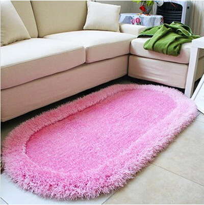 3D Cozy Shag Collection Solid Shag Rug Contemporary Living & Bedroom ...
