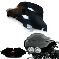 Brand New Black CYCLE WAVE 8 Windshield Windscreen For Harley Electra Street Glide New Free Shipping