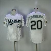 MLB Men S Florida Marlins Miguel Cabrera Dontrelle Willis Jerseys 2003 WS White Stitched Throwback Baseball