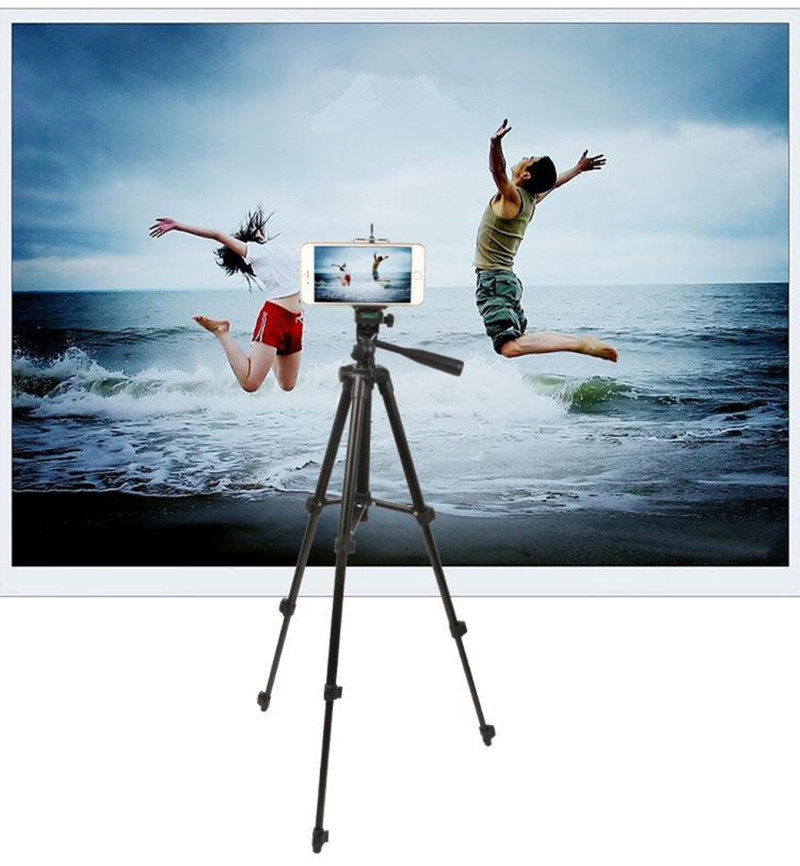 Professional Extendable Tripod Monopod For Camera Mobile Phone Ipad Aluminium Alloy Stand Mount Tripod Holder For DV Video 4