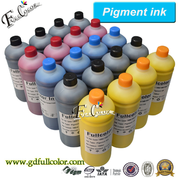 ФОТО water based Inkjet ink for Epson T7000 / T5000 / T3000 Printer Pigment Ink for Photo Poster Printing